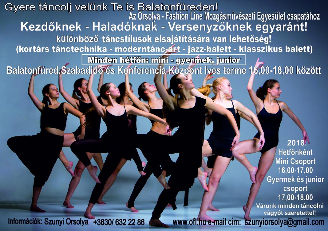 Gyere táncolj velünk Te is Balatonfüreden!